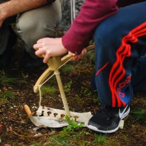 Seikkailua ja selviytymistä: Koululaisten retki Hirven väenpariin